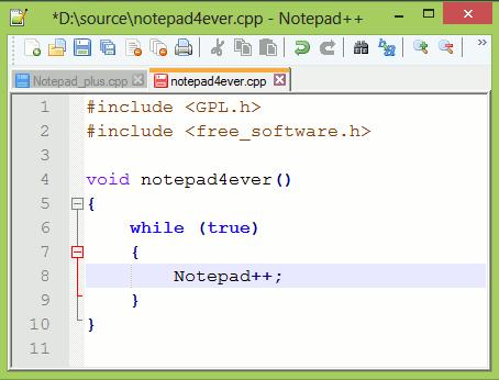 Free electronics design tools_Notepad++2