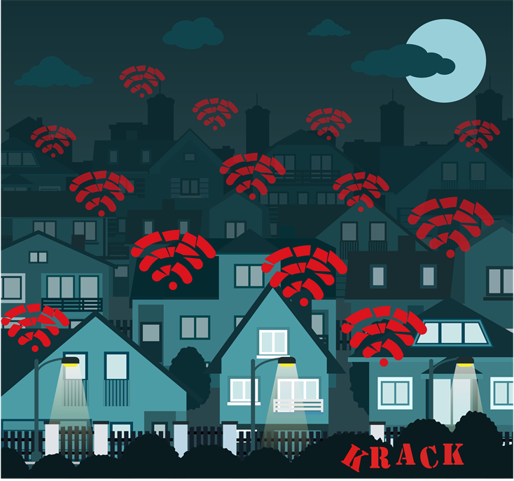 IoT has a WiFi krack problem