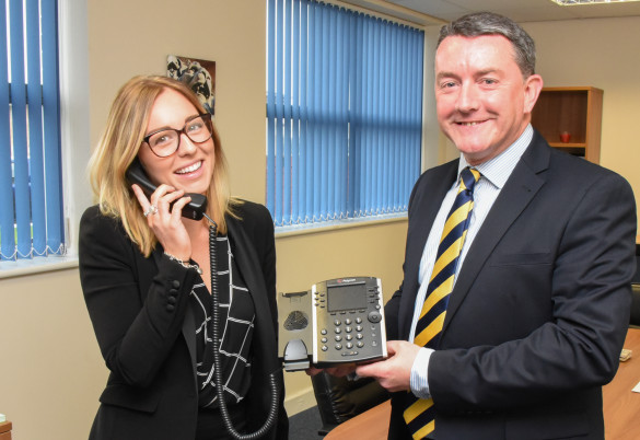 Pure reports huge growth in hosted phone system sales