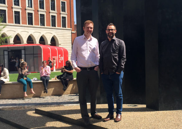 Birmingham Tech Firms D4 Software & City17 Merge