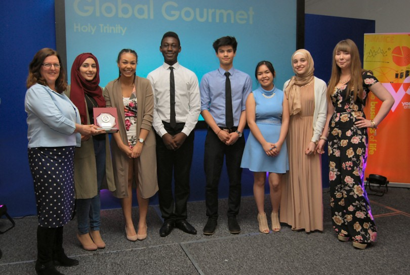 Shrewsbury businesswoman praises talented youngsters