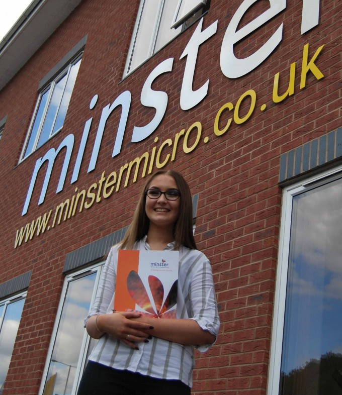 Minster Micro invests in marketing apprentice