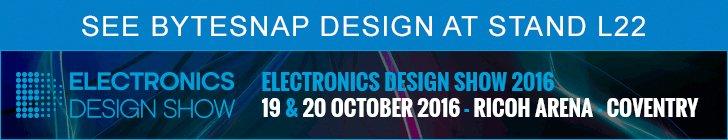 ByteSnap Design Exhibiting at EDS 2016