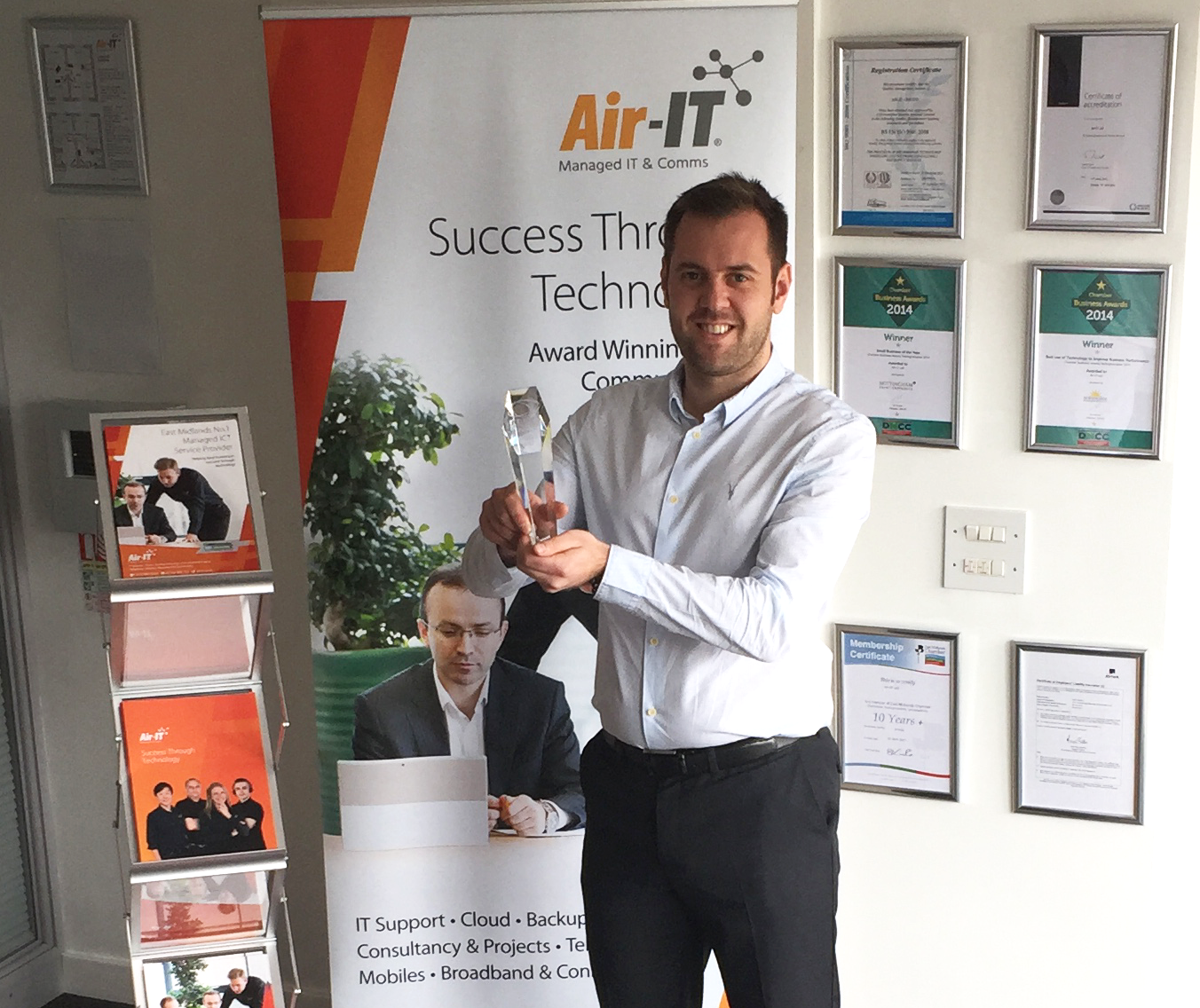 Air-IT scoops European IT & Software excellence award