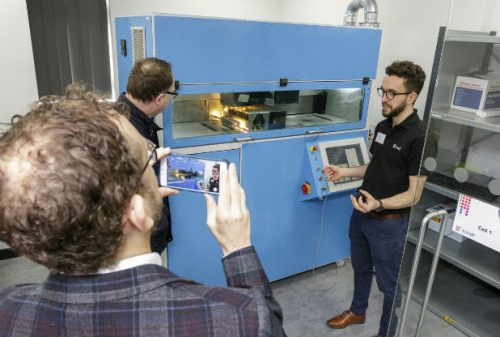 Xaar opens 3D printing business in Nottingham Science Park
