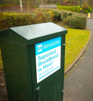 WarwickNet issues first DCMS fibre broadband installation voucher