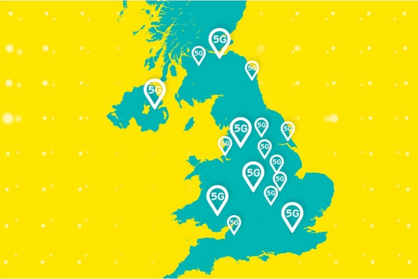 EE switches on 5G mobile network in Solihull