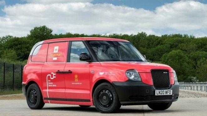 Royal Mail kicks of black cab electric van trials in Birmingham