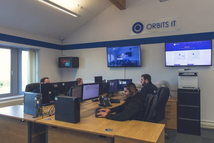 £1 million turnover milestone reached by Orbits IT